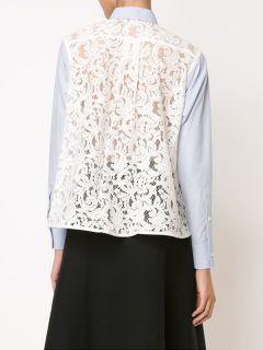 Sacai Lace Back Shirt   Kirna Zabête