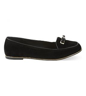 MISS KG   Mirror bow loafers