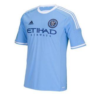 adidas New York City FC Home Replica Jersey   Blue