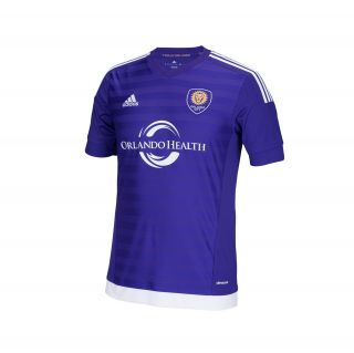 adidas Orlando City SC Replica Jersey   Purple