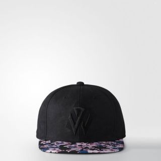 adidas Florist City Snap Back Structured Hat   Black