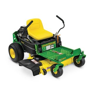 John Deere ZTRAK Z335E 20 Hp V Twin Dual Hydrostatic 42 in Zero Turn Lawn Mower with Mulching Capability