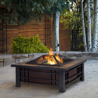 Real Flame Morrison Outdoor Fire Pit   15257013   Shopping