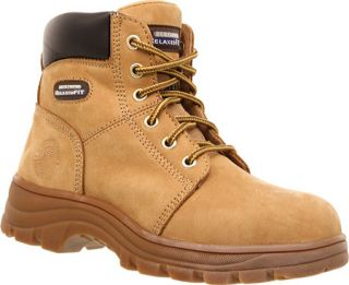 Womens Skechers Work Relaxed Fit Workshire Peril Steel Toe   Wheat
