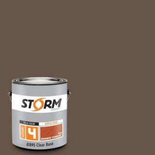 Storm System Category 4 1 gal. Chocolate Lab Exterior Wood Siding, Fencing and Decking Acrylic Latex Stain with Enduradeck Technology 418C159 1