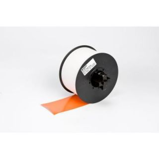 Brady MiniMark Industrial Printer General Purpose 4 in. x 110 ft. Vinyl Orange Tape 120866