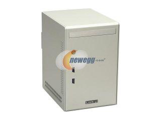 LIAN LI PC Q02A Silver Aluminum Mini ITX Tower Computer Case 300W 80 PLUS Power Supply