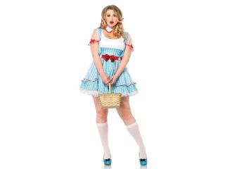 Sexy Oz Beauty Kansas Girl Costume Plus Size