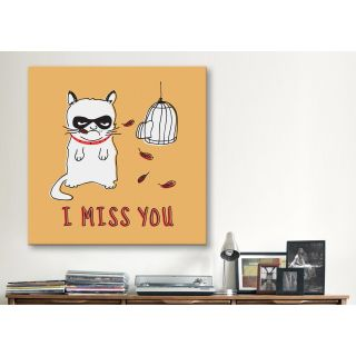 Miss You Print by Maximilian San Graphic Art on Canvas by iCanvas