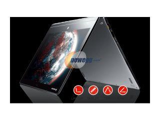 "Lenovo Yoga 3 Pro Convertible Ultrabook  Intel Core M 5Y70, 256GB SSD, 8GB RAM, 13.3"" QHD+ 3200x1800 Touchscreen, AC Wireless, Windows 8.1 (Silver) 80HE000HUS"