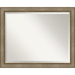 Egyptian Silver Wall Mirror   Large 32 x 26 inch   17510806