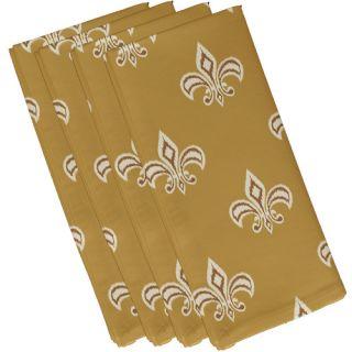 Fleur de Lis Ikat Print Napkin by e by design