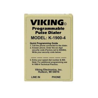 Viking Hot Line Pulse Only Dialer VK K 1900 4