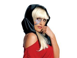 Lady Gaga Head Scarf   Black