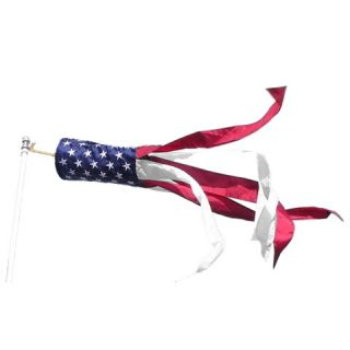 50 Star Windsock Flag