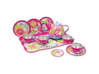 Garden Fun Tin Tea Set   Pretend Play Toys by Schylling (GFTTS)
