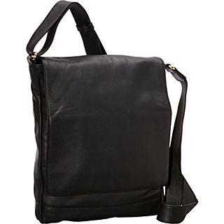 Derek Alexander NS 3/4 Flap Unisex Messenger Bag