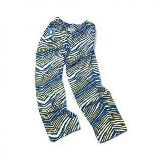 MLB Unisex Zubaz Zebra Print Drawstring Pants   Milwaukee Brewers   7614024