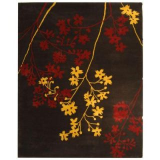 Safavieh Soho Brown/Red 8 ft. 3 in. x 11 ft. Area Rug SOH316A 9