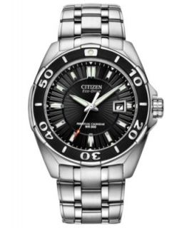Citizen Watch, Mens Eco Drive Signature Perpetual Calendar Stainless