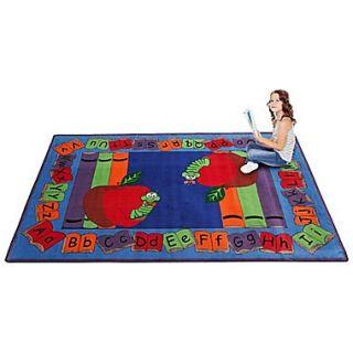 Kid Carpet Lets Book It Story Kids Rug; 76 x 12