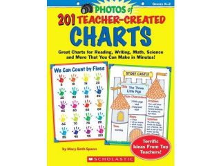 201 Teacher Created Charts: Easy to Make, Classroom Tested Charts That Teach Reading, Writing, Math, Science & More!