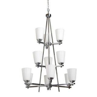 Filament Design Siedentopf 12 Light Chrome Chandelier CLI ACG127073
