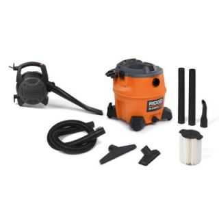 RIDGID 16 gal. 6.5 Peak HP Wet Dry Vac with Detachable Blower WD1680