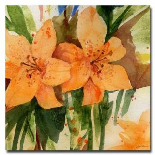 24 in. x 24 in. Tiger Lilies Canvas Art SG111 C2424GG