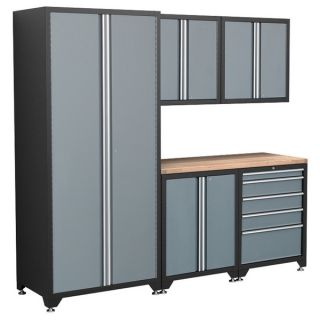 NewAge Products Pro Series 6 Piece Grey Cabinetry Set
