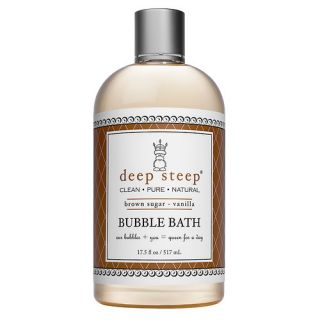 Deep Steep Bubble Bath, Brown Sugar Vanilla
