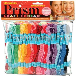 DMC Prism Craft Thread Jumbo Pack (Pack of 105)   13851982