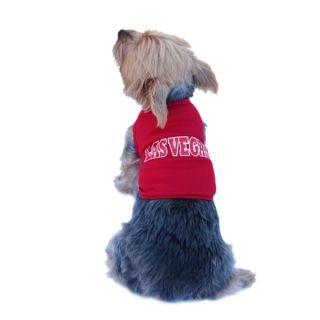 Insten Pet Dog Puppy Clothes Ultra Soft Cotton Las Vegas Jersey Tee T