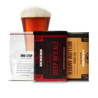 Gal Hellfire Deep Red Ale Plus Refill Kit