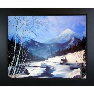 Peggy Miller Whiteface from Route 87 Framed Fine Art Print   16760865