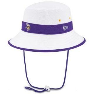 Minnesota Vikings New Era On Field Training Camp Bucket Hat   White