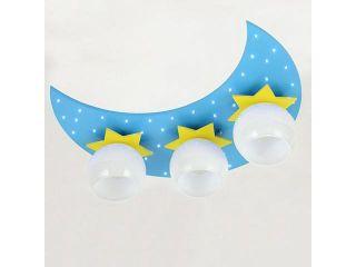 Cartoon Moon Stars Children's Bedroom Ceiling Lamp Cute Baby Room LED Ceiling Lamps Boy Girl Room Ceiling Light