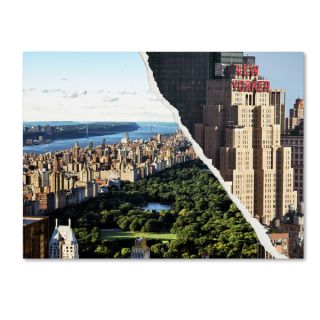 Philippe Hugonnard Central Park View Canvas Wall Art   17588987