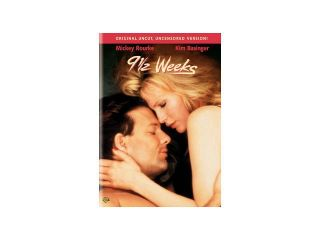 9 1/2 Weeks Mickey Rourke, Kim Basinger, Margaret Whitton, David Margulies, Christine Baranski, Dwight Weist, Roderick Cook