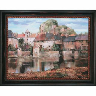 La Seyne sur Mer by Duvall Framed Painting Print by Paragon
