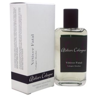 Atelier Cologne Vetiver Fatal Unisex 3.3 ounce Cologne Absolue Spray