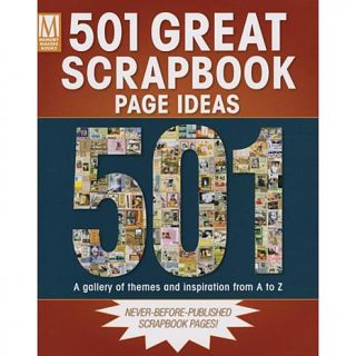 F and W Publications Books   501 Great Scrapbook Page Ideas   2312097