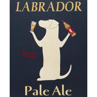 Ken Bailey Labrador Pale Ale Paper Print (Unframed)