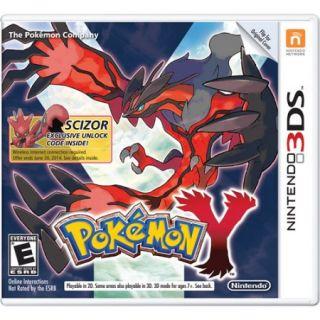 Pokemon Y   Wal Mart Exclusive (Nintendo 3DS)
