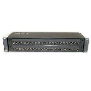 Whirlwind 2x24 Longframe Patch Bay, Unterminated, 2 RU WLF482
