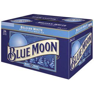 Blue Moon Belgian White Ale (12 oz. bottles, 24 pk.)   Puerto Rico