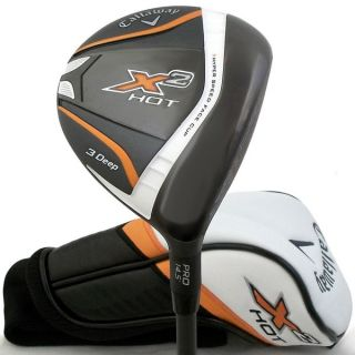 Callaway Mens X2 Hot Deep Fairway Wood   16146215