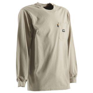 BERNE APPAREL Small Khaki T Shirt