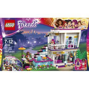 LEGO Friends Livis Pop Star House #41135   Toys & Games   Blocks