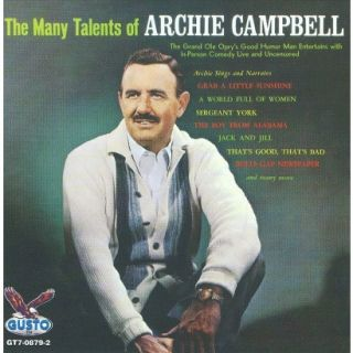 The Many Talents of Archie Campbell